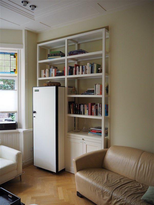 Stelling Op Maat.Boekenkast Stelling Op Maat Woonkamer Bookcase Shelves En Home