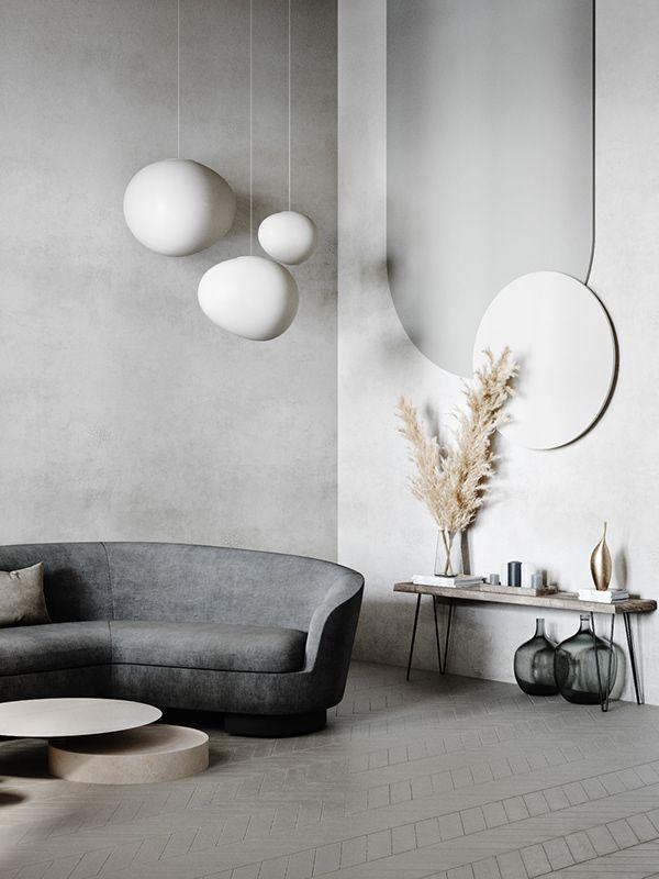 Trend 2021 Luxury Minimal Design Home Interior Design Minimalism Interior Interior Living room design trends 2021