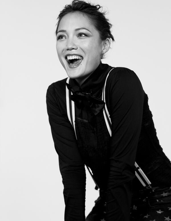 Pom Klementieff: outtake from NYLON photoshoot by Clarke Tolton.