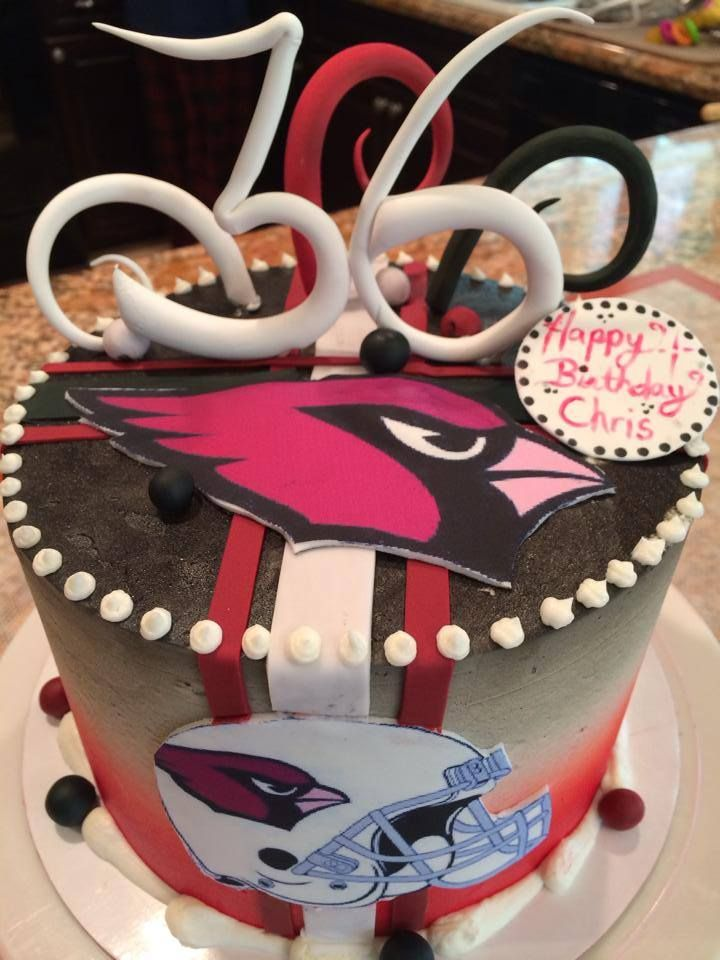 Cardinal Cake Images : 68 best images about NFL Decorations on Pinterest ...