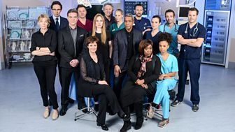"Holby City  ""Drama series about life on the wards of Holby City Hospital, following the highs and lows of the staff and patients."""