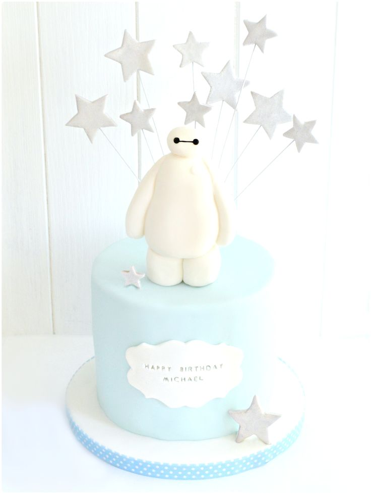 Baymax Big Hero 6 Birthday Cake | Chérie Kelly