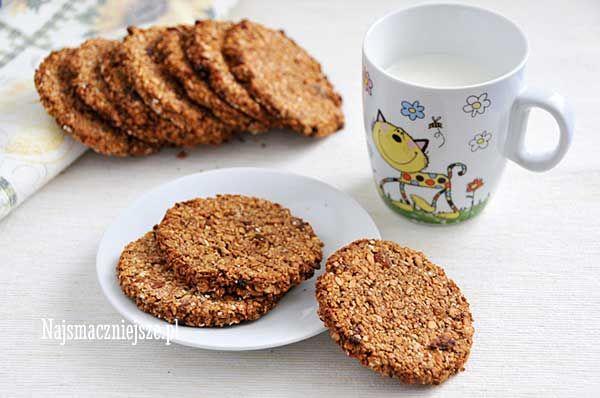 Ciasteczka owsiane żytnie