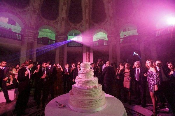 Matrimonio da sogno di Claudia Ruffo nel salone Margherita