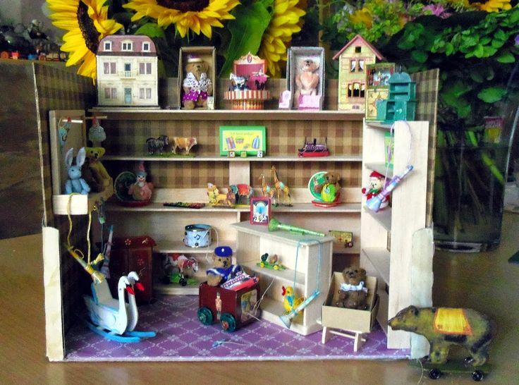 Der Nostalgie-Spielzeugladen...