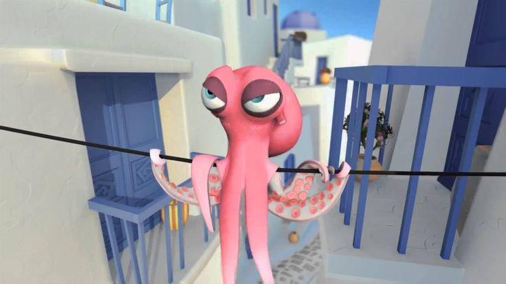 Pulpos Enamorados / Oktapodi (Cortometraje Animado 3D, 2007) HD