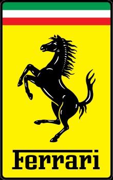 Ferrari et son cheval cabré