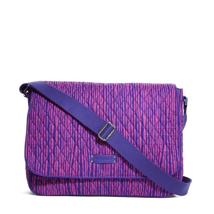 Vera Bradley Laptop Messenger Bag #VeraBradley #LaptopMessenger