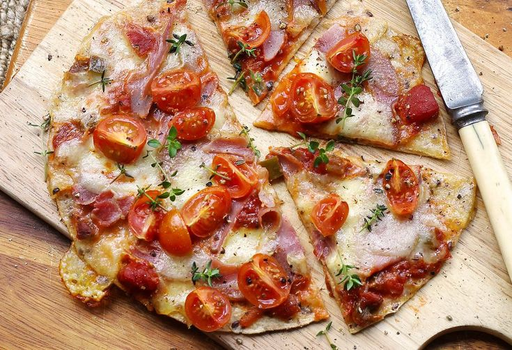 Delicious crispy pizza - your Friday night in is sorted!