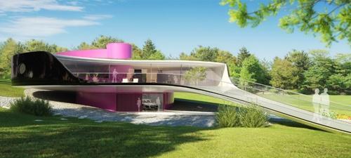 villa Kaplicky by Jan Kaplicky for Resort Konopiste