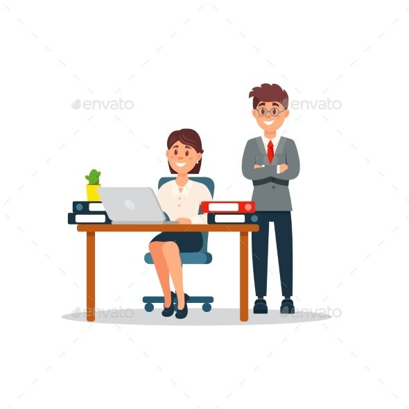 Cartoon Images Of Computer Workers