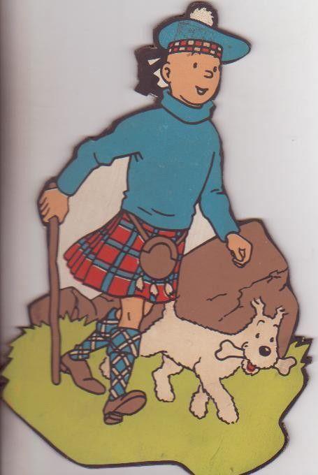 Tintin - Publicité/PLV