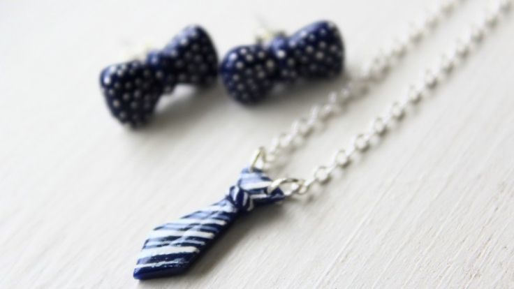 Create adorable jewelry from polymer clay in under 60 minutes! With Helga, you'll learn how easy and fun it is to make your own jewelry with all of the materials you need: https://takeandmake.co/crafts/bow-tie-jewelry-set