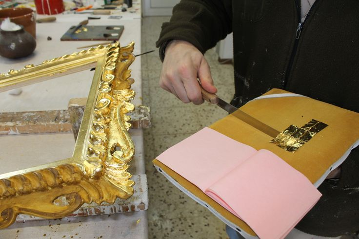 Water Gilding Taglio della foglia oro