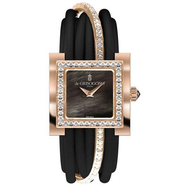 Привет семье часы Allegra от de Grisogono ❤ liked on Polyvore featuring watches