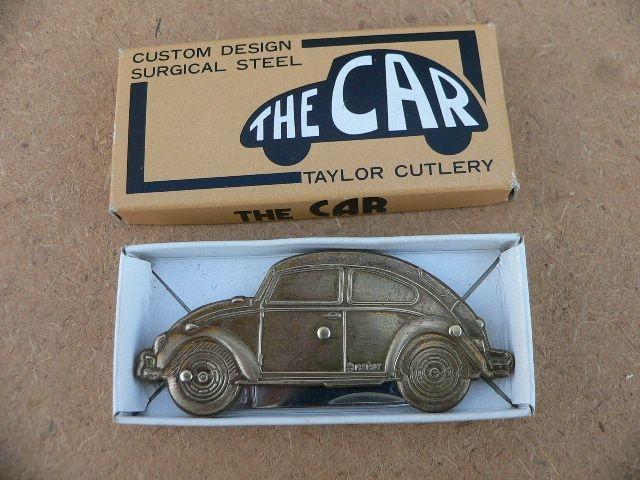 1981 Taylor Cutlery Volkswagen Bug Pocket Knife   Dub   Pinterest   Volkswagen, Beetle bug and ...