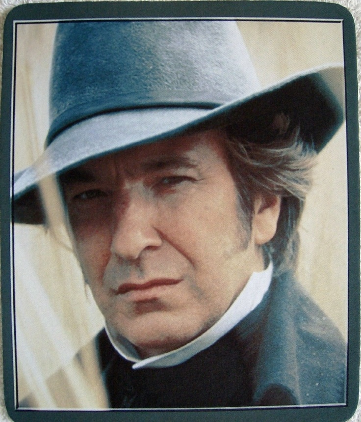Alan Rickman, Colonel Christopher Brandon - Sense and Sensibility (1995) #janeausten #anglee