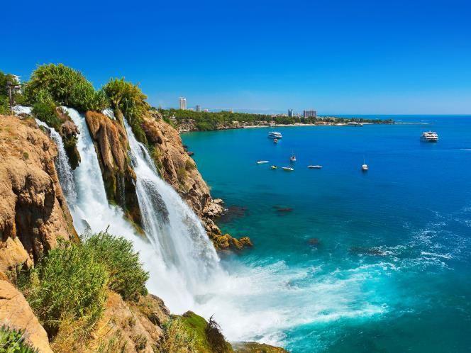 Antalya, Turkey for a honeymoon