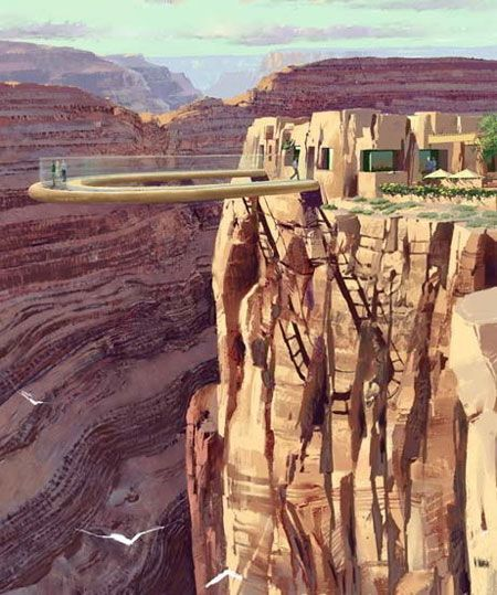 No way!!!!   Grand Canyon West Rim Skywalk