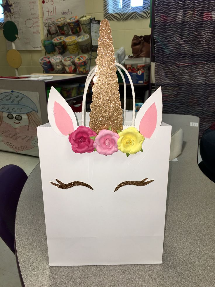Best 25 unicorn gift bags ideas on pinterest unicorn party bags unicorn gift bag negle Image collections