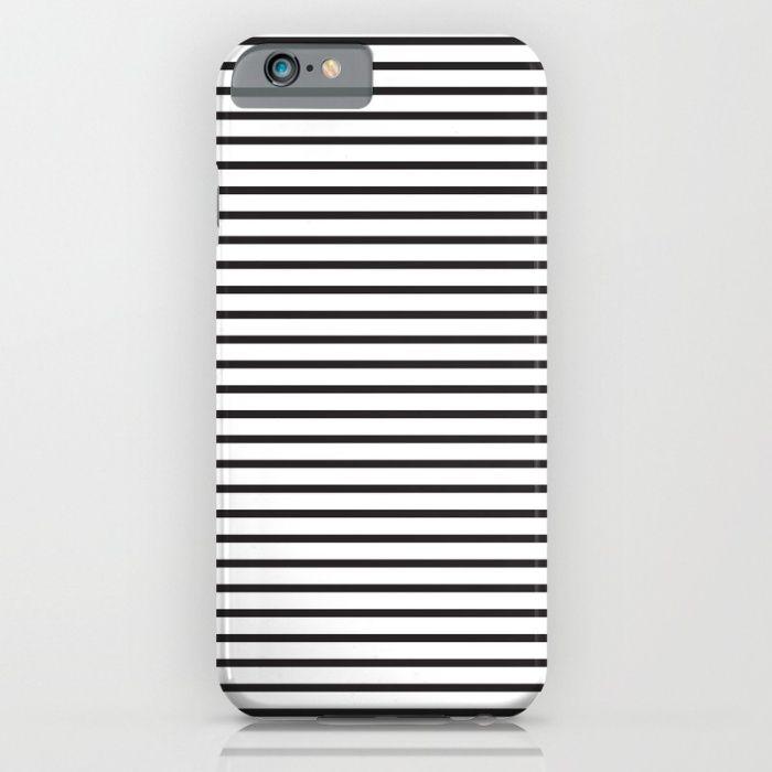 Basic Horizontal Stripes iPhone & iPod Case by JumperCat   Society6