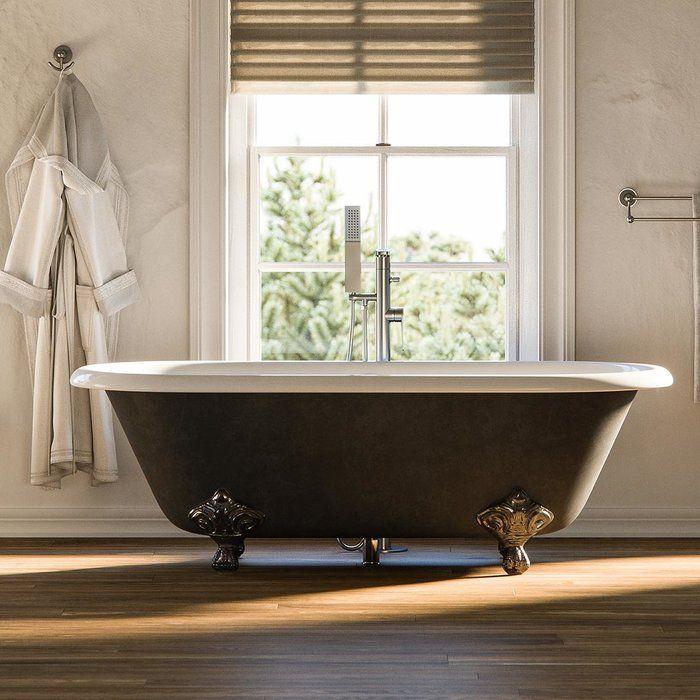 Rosa Clawfoot Soaking Bathtub