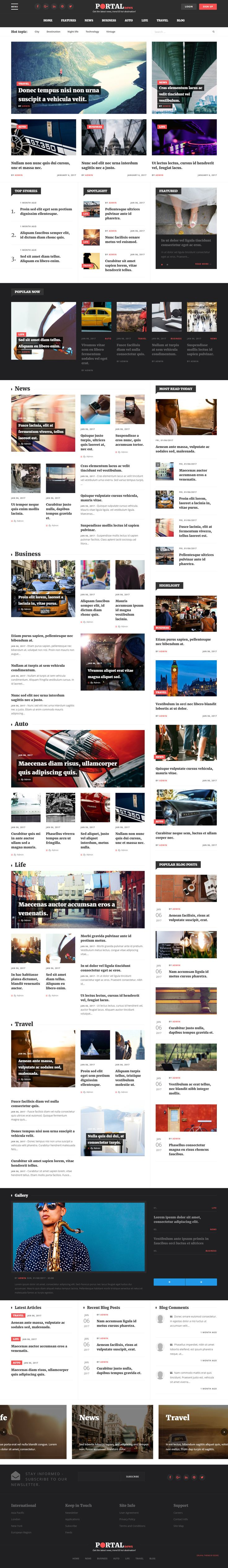 Portal News is Premium full Responsive Retina #Drupal8 Theme. Foundation 6 Framework. If you like this #Magazine Theme visit our handpicked list of best #Drupal8Themes and Templates at: http://www.responsivemiracle.com/best-drupal-8-themes-and-templates/