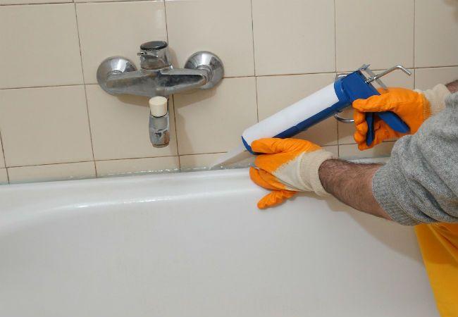 1000 images about bathrooms bob vila 39 s picks on for Bathroom caulking service