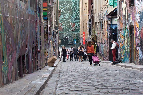 ALLYOURWALLS - Hosier Lane, Melbourne