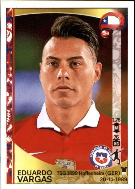 2016 Panini Copa America Centenario Stickers #347 Eduardo Vargas