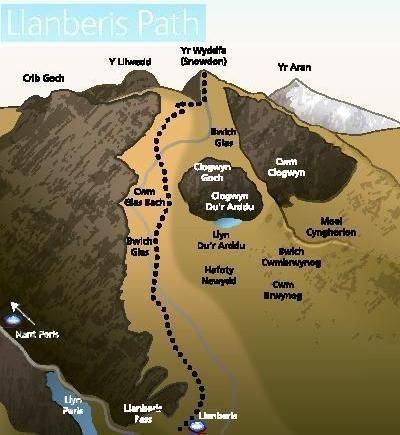 400 435 Llanberis Path