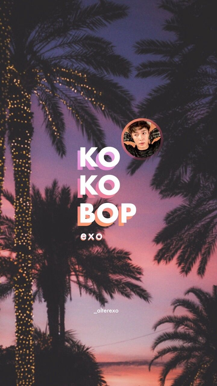 "Don't mean anything but... does SM really put Lay's face next to the word ""KokoBop"" just to mention that ""Oh, Lay is still there, right there.""?"
