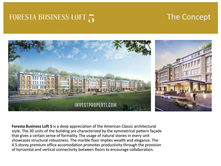 Foresta Business Loft 5 Concept