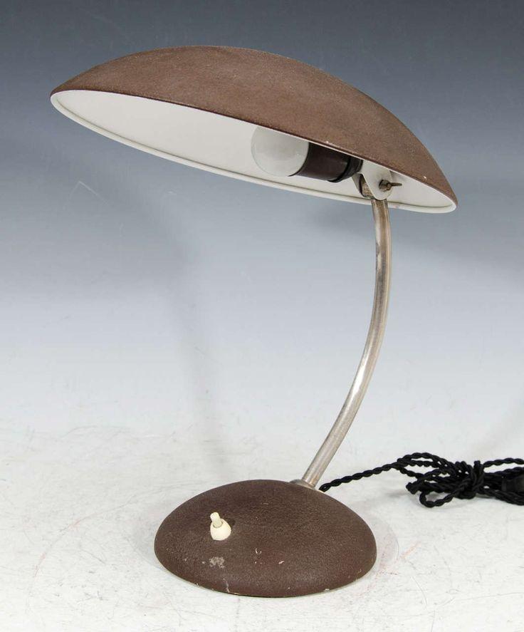 Swing Lamp Co. Steel Desk Lamp in Brown - Desk Lamps - Tabletop - Lighting - Catalog - NY Showplace Antique and Design Center