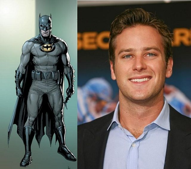 Armie Hammer Says He's Not Interested In Playing Batman
