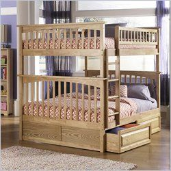 Bunk Beds, Cheap Bunk Bed, Loft Bunk Beds, Twin over Full, Futon Bunk Beds