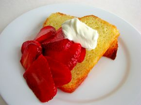 French Yogurt Cake Recipe - A light cake perfect for breakfast or dessert! #FoodRepublic