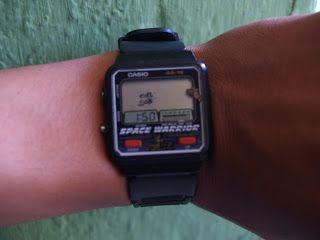 "jam tangan CASIO gimbot "" SPACE WARRIOR"""