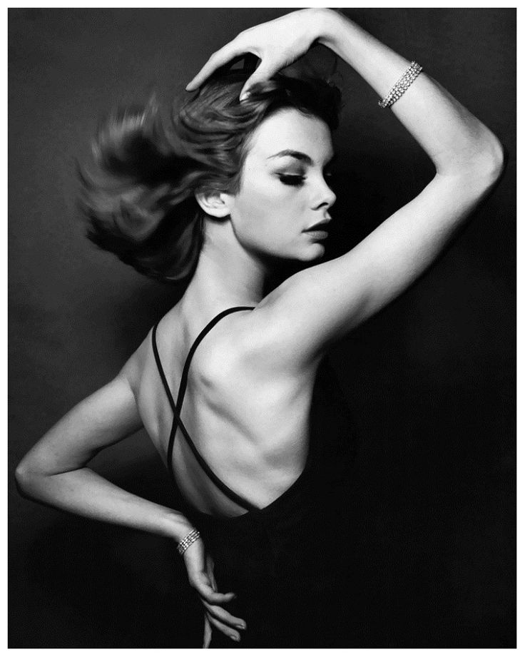 Jean Shrimpton photographed by David Bailey, 1960s.