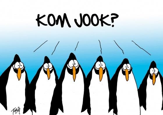 Kom jook? (© Toon van Driel)