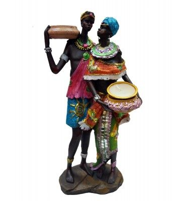 Nigro Couple Candle Stand @ Rs 1400  http://www.krafthub.com/nigro-couple-candle-stand.html