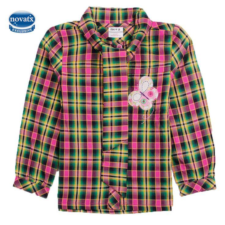 novatx F3942 baby girl clothing tops print children girl t shirts nova brand kids clothing cartoon white t shirt  for girls new