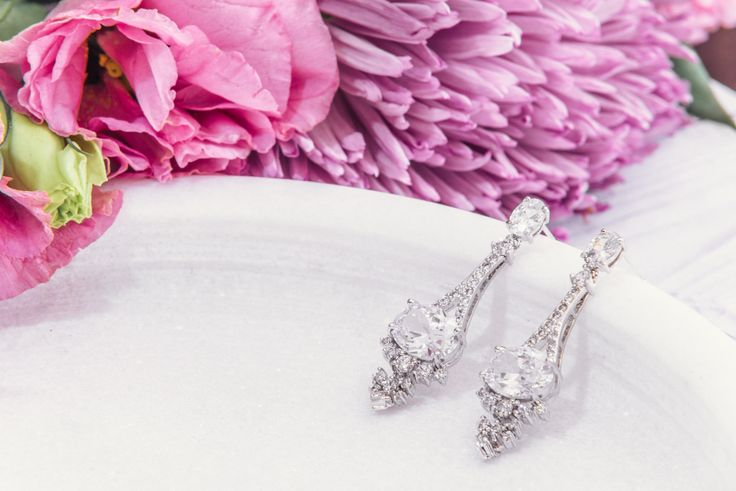 Fashionably Yours - Full of Glitz Crystal Drop Bridal Earrings, $44.95 (https://www.fashionably-yours.com.au/full-of-glitz-crystal-drop-bridal-earrings/)