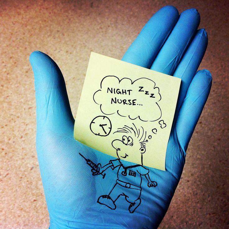 Gloves of silence. Things you can do on a boring night shift. #nurse #nursing #art #nurselife #murse janholmberg.weebly.com