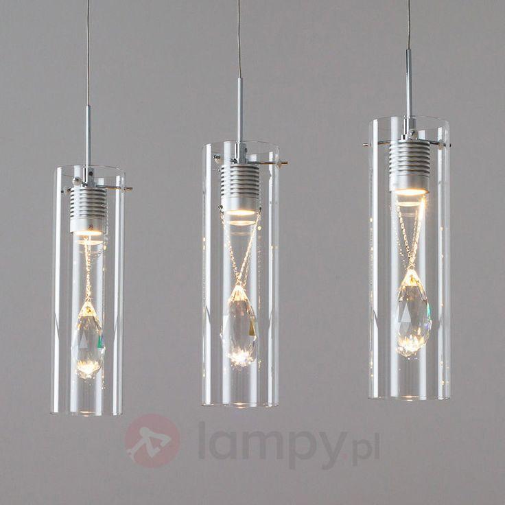 Dekoracyjna lampa wisząca LED JACE, 3-pkt. 9950243
