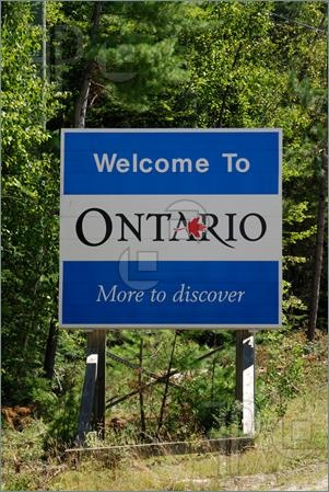 "Ontario Province, Canada. This province used to be called ""Upper Canada""."