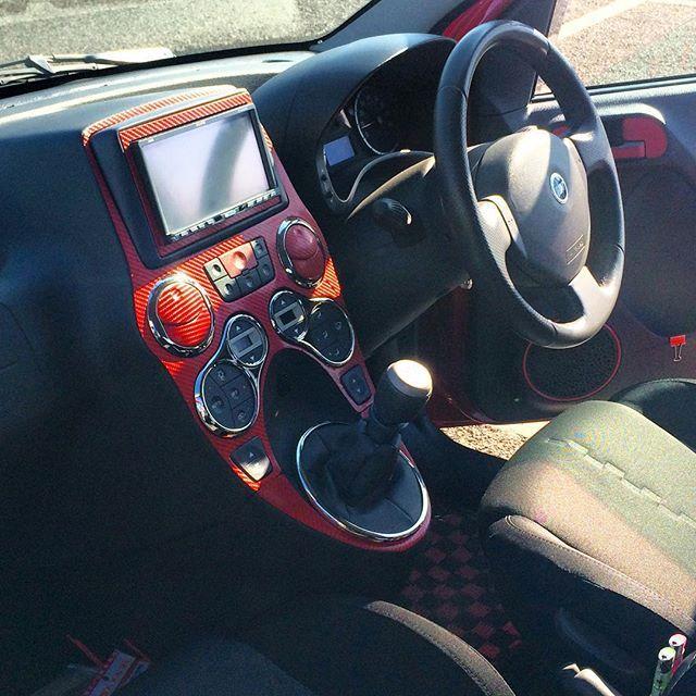#fiatpanda100hp #100hp #panda100hp #FIAT #内装 #コックピット #cockpit #カッティングシート