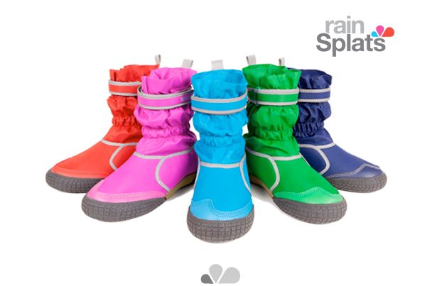 """North London Mum's Rainbow Hart and Amy Gowan started rainSplats footwear in 2011. """"I had the idea brewing for months…I wanted to design an alternative to heavy wellington boots"""", says co-founder Hart."""
