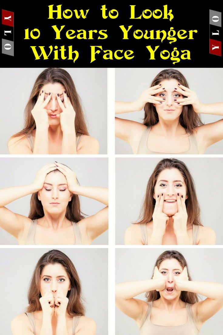 Look 10 Years Younger Using Face Yoga Face Yoga Consists Of Very Simple Facial Exercises That Are Designed Face Yoga Facial Exercises Face Yoga Face Exercises