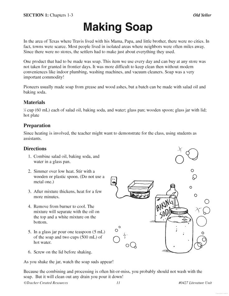 Printables Old Yeller Worksheets 5th grades fifth grade and old yeller on pinterest making soap yeller